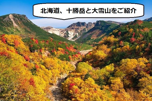 北海道の活火山、十勝岳・大雪山ってどんな山?【常時観測火山】